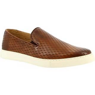 Nízke tenisky Leonardo Shoes  9620E20 SIERRA DELAVE SIENA