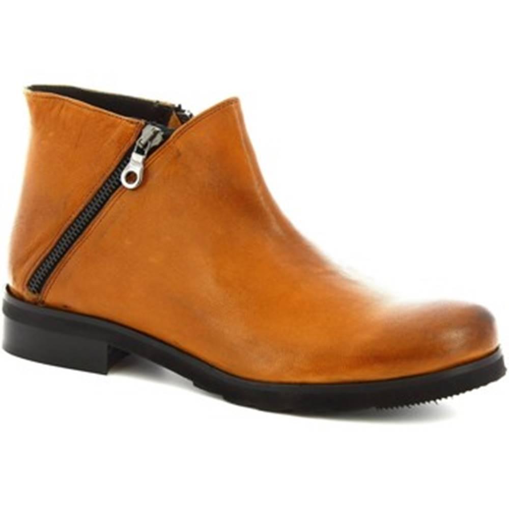 Leonardo Shoes Nízke čižmy Leonardo Shoes  4729 ROK CUOIO