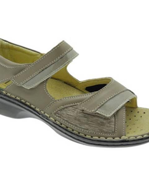 Béžové topánky Calzaturificio Loren