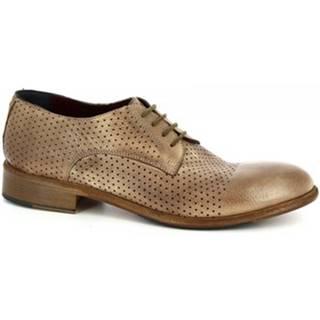 Derbie Leonardo Shoes  34302/2 BUFALO MAROCCO - FORATO ART 32