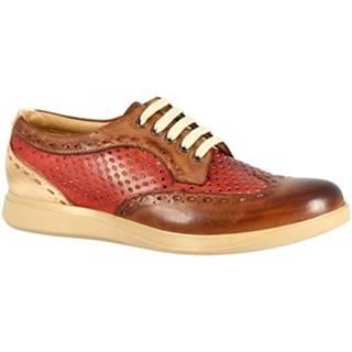 Derbie Leonardo Shoes  7797 TOM CAPRI AV BRANDY ROSSO
