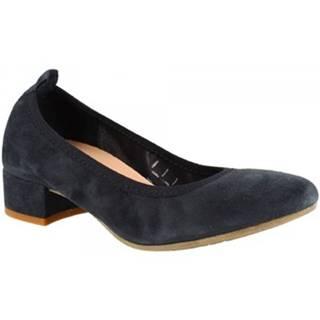 Balerínky/Babies Leonardo Shoes  2381/JESSICA CAMOSCIO BLU