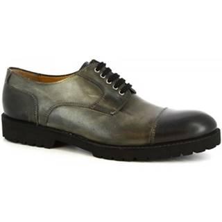 Derbie Leonardo Shoes  101 SIVIGLIA GRIGIO