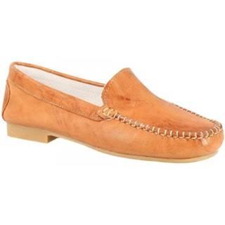 Derbie Leonardo Shoes  318 STROPICCIATO TAN FONDO GOMMA