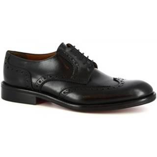 Derbie Leonardo Shoes  T100 SIVIGLIA NERO