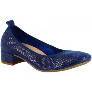 Lodičky Leonardo Shoes  2381/JESSICA PITEN MARINE