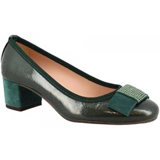 Lodičky Leonardo Shoes  3056 NAPLAK FOREST