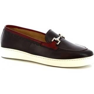 Mokasíny Leonardo Shoes  7850