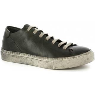 Nízke tenisky Leonardo Shoes  ART. LAPO VACCHETTA LAVATA MIMETICO