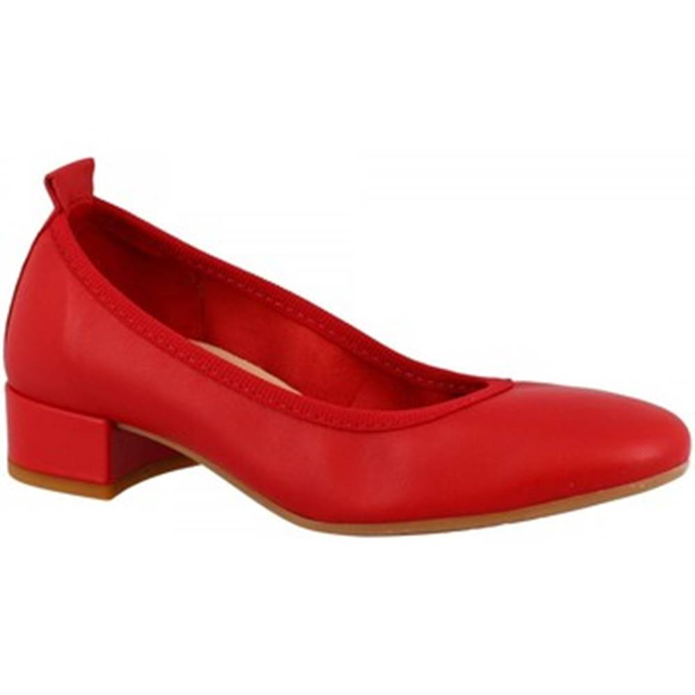 Leonardo Shoes Mokasíny Leonardo Shoes  2381/JESSICA NAPPA ROSSO