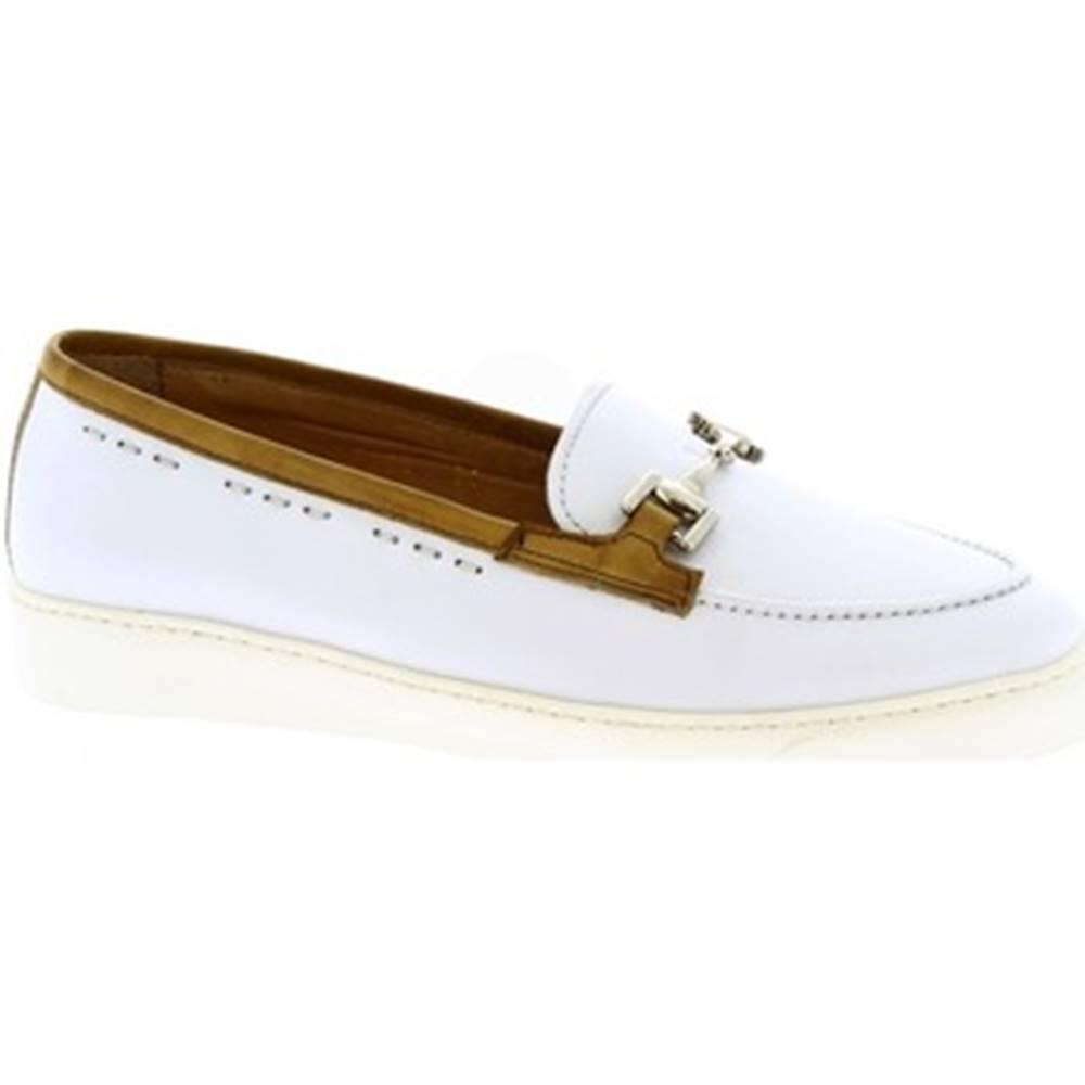 Leonardo Shoes Mokasíny Leonardo Shoes  7850 FRANCH BIANCO