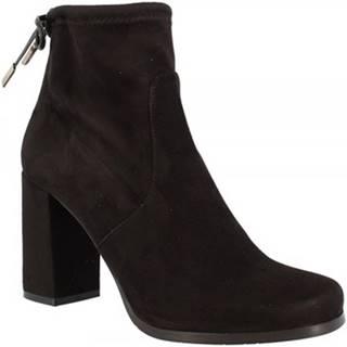 Čižmičky Leonardo Shoes  7805 STRETCH NERO