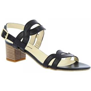 Sandále Leonardo Shoes  C 76 VACCH NERO