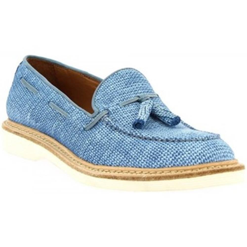 Leonardo Shoes Mokasíny Leonardo Shoes  W052-24 COSTES DENIM