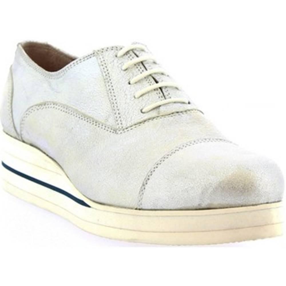 Leonardo Shoes Richelieu Leonardo Shoes  D030-69 PIXEL GRIGIO