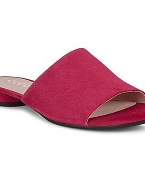Červené topánky Ecco
