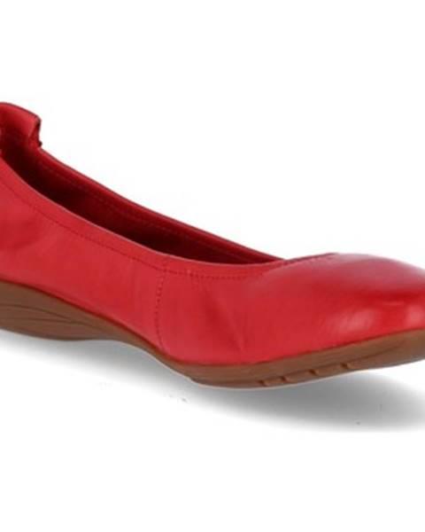 Červené topánky Josef Seibel