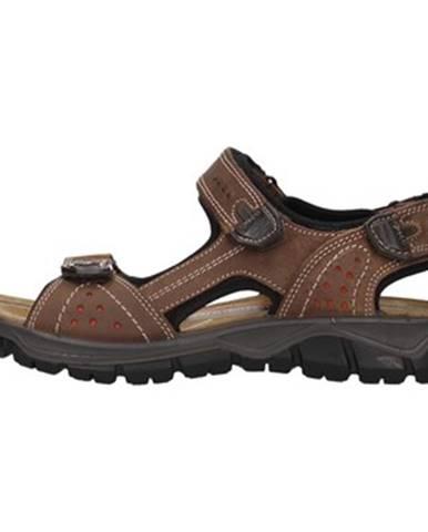 Hnedé športové sandále IGI CO