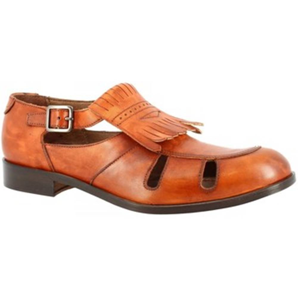 Leonardo Shoes Derbie Leonardo Shoes  SAN-69 VITELLO CAMYON