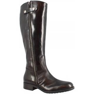 Čižmy do mesta Leonardo Shoes  D08950 TQ. 01 TEQUILA NERO