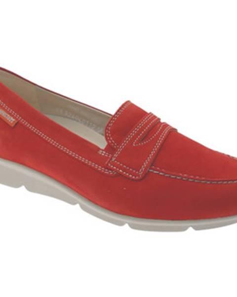Červené topánky Mephisto