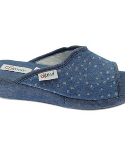 Modré topánky Cristina