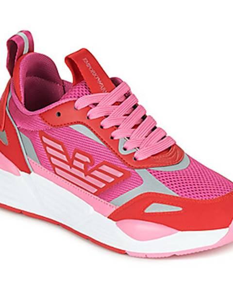 Ružové tenisky Emporio Armani