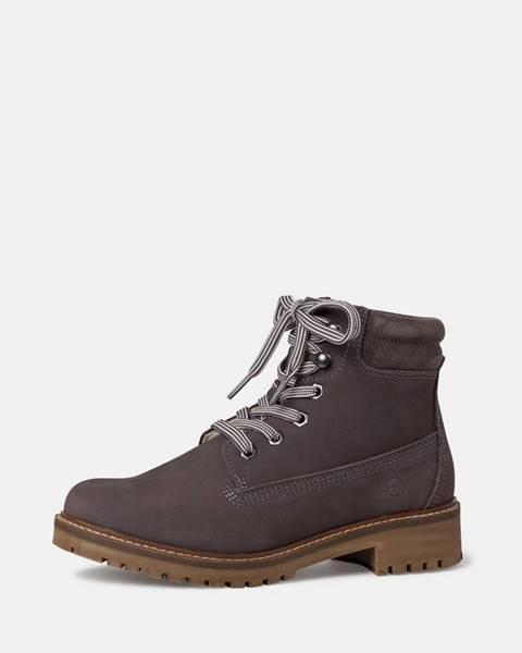 Sivé topánky Tamaris