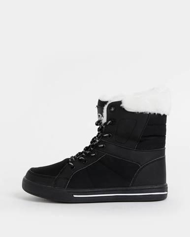 Čierna zimná obuv SAM 73