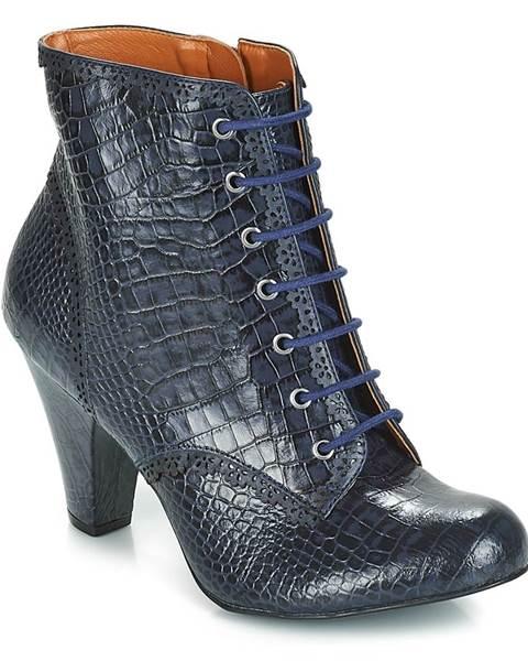Modré topánky Cristofoli