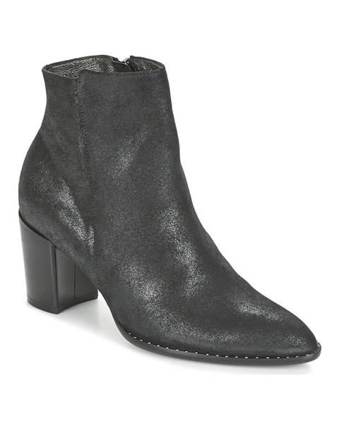 Čierne topánky France Mode