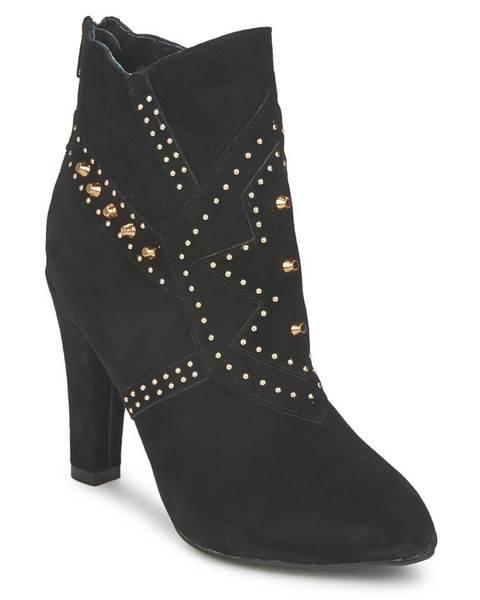 Čierne topánky Friis   Company