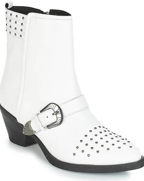 Biele topánky Geox