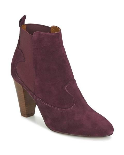 Červené topánky Heyraud