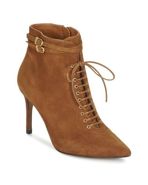 Hnedé topánky Heyraud