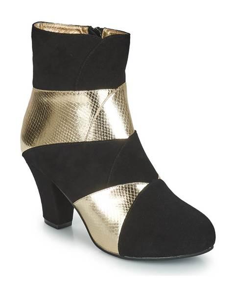 Čierne topánky Lola Ramona