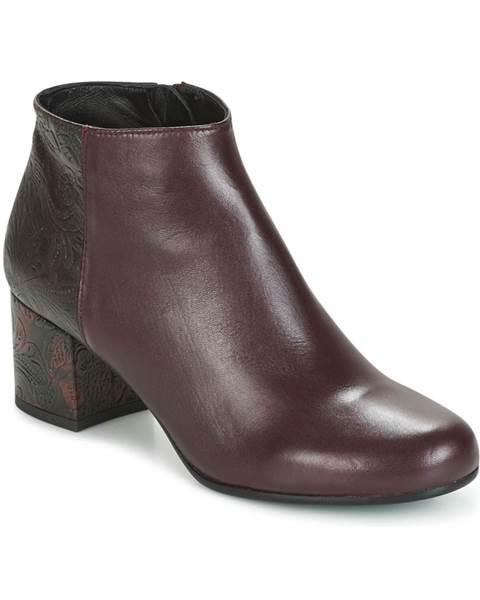 Bordové topánky Paco Gil