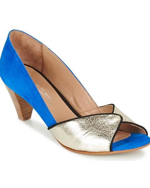 Modré lodičky Betty London