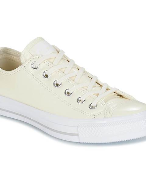 4f160720b2fe Nízke tenisky Converse CHUCK TAYLOR ALL STAR CRINKLED PATENT LEATHER OX  EGRET EGRET WHI