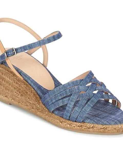 Modré sandále Castaner