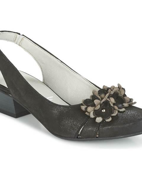 Čierne sandále Dorking