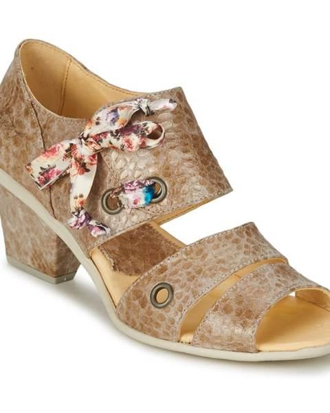 Béžové sandále Eject
