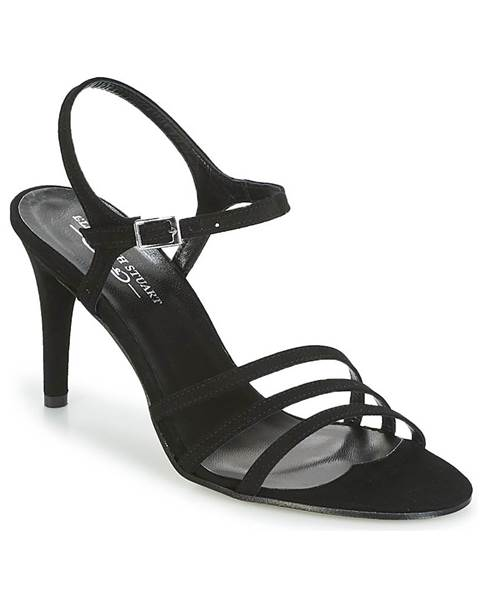 Čierne sandále Elizabeth Stuart