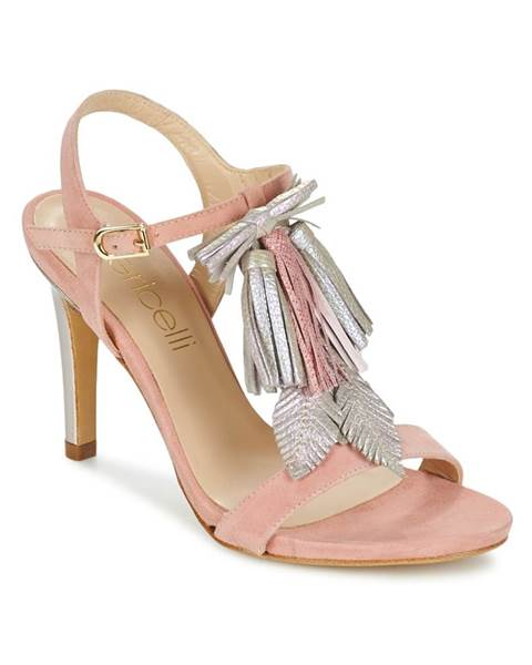 Ružové sandále Fericelli
