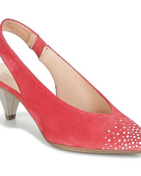 Červené sandále Hispanitas