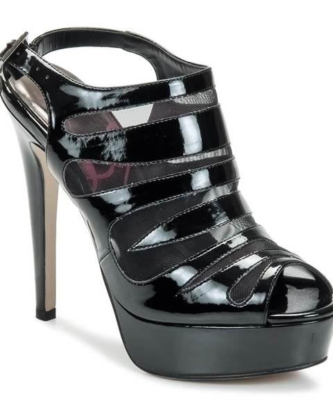 Čierne sandále Lipsy