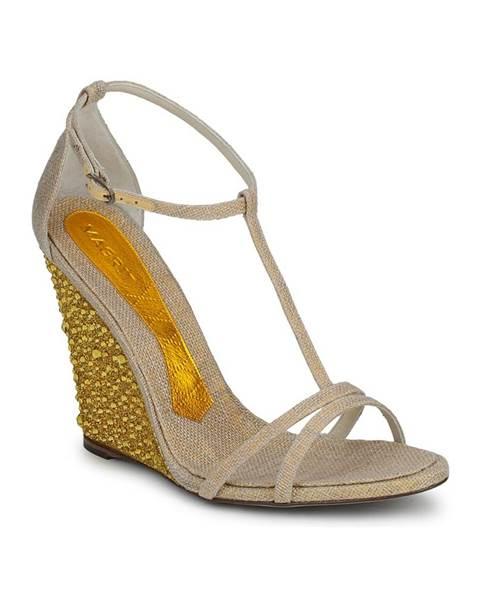 Béžové sandále Magrit