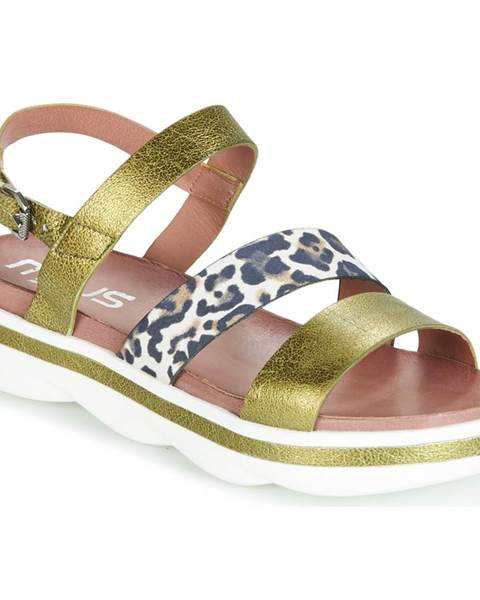 Zelené sandále Mjus