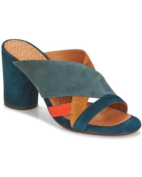 Modré topánky Chie Mihara