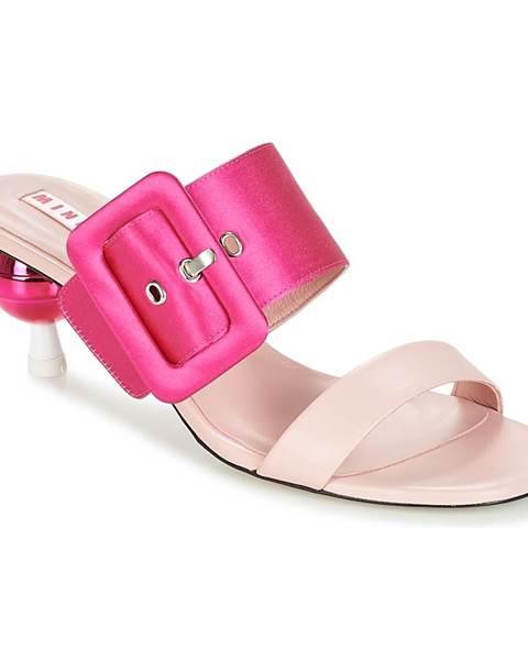 Ružové topánky Minna Parikka